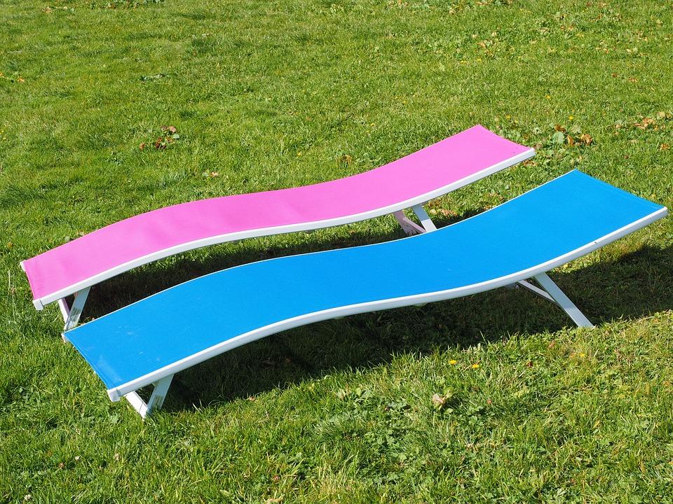 chaise longue soleil